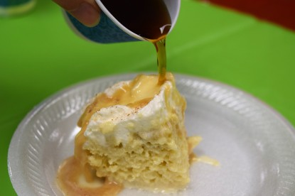 Tres Leches with coffee